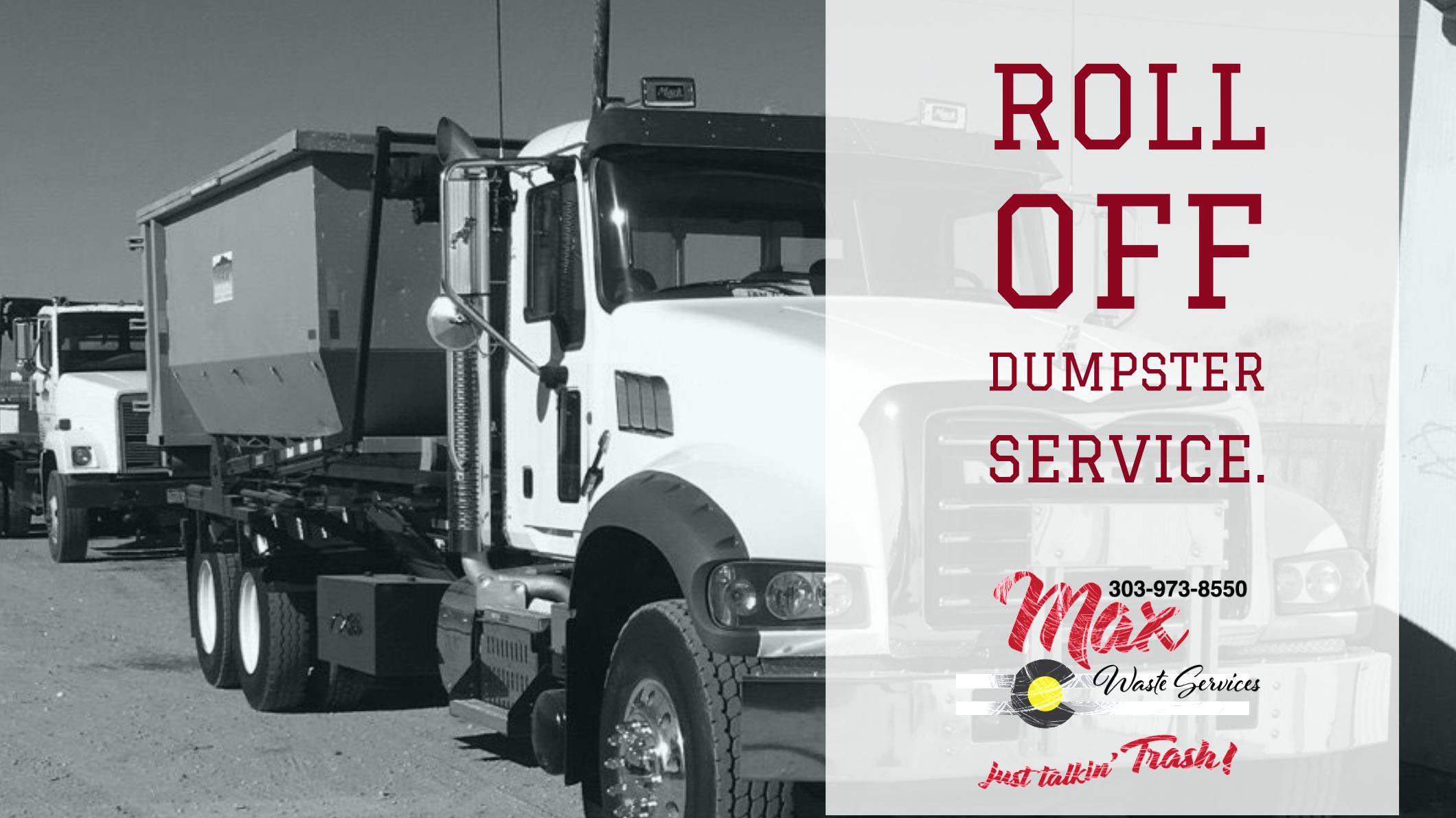 20 Yard Dumpster Rental Denver, CO   Roll Off Dumpster Rental
