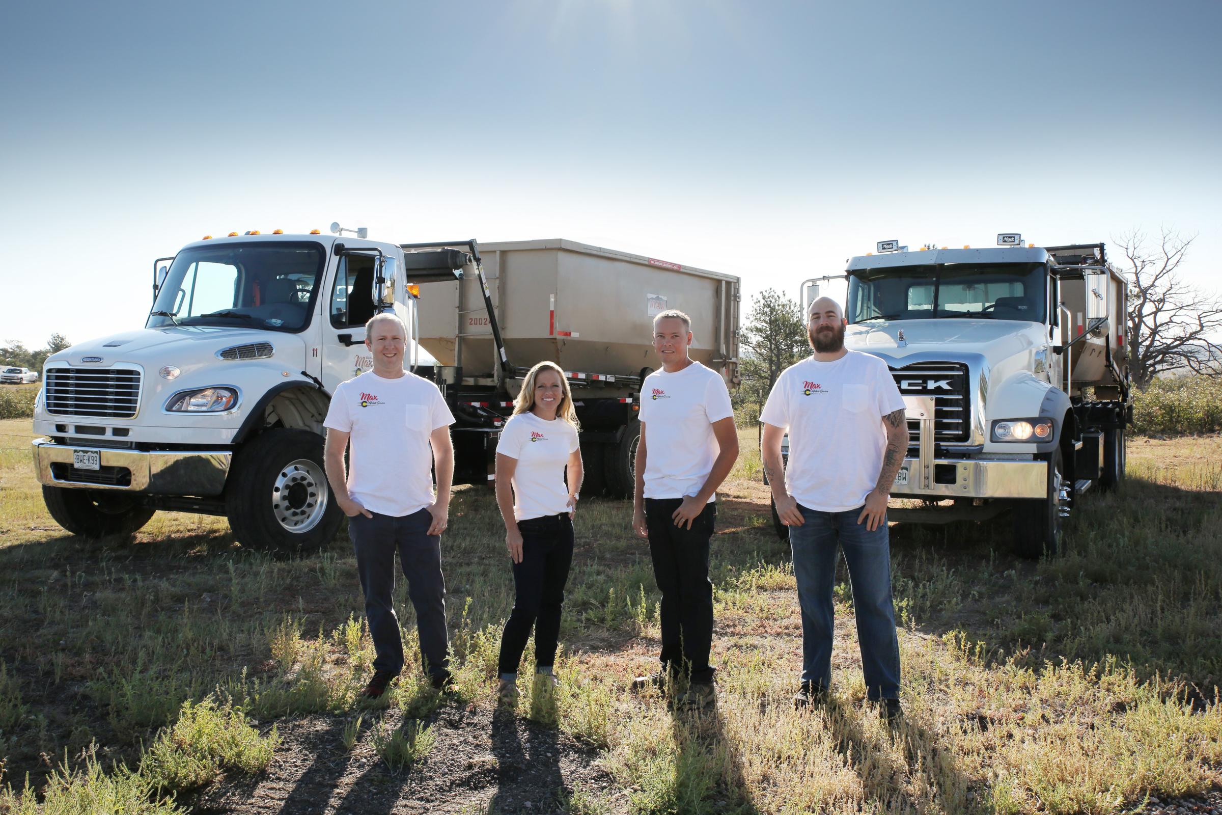 Max Waste Services 20 yard Roll Offs